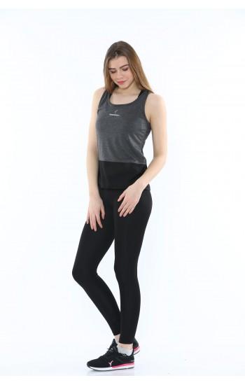 Дамски Летен Комплект Speedlife от 3 части Цвят Черен