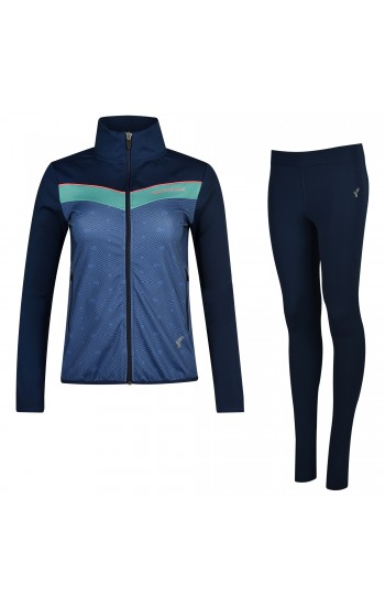 Дамски Анцуг Slim Fit Speedlife Excentric Blue