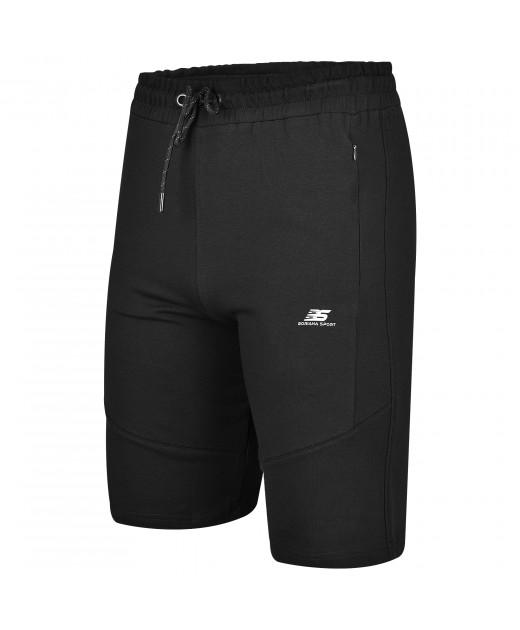 Мъжки Памучни Къси Панталони в Черно