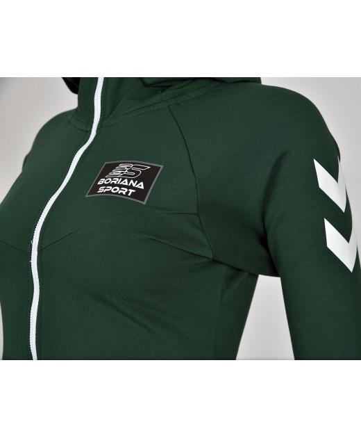 Дамски екип BorianaSport тъмно зелено