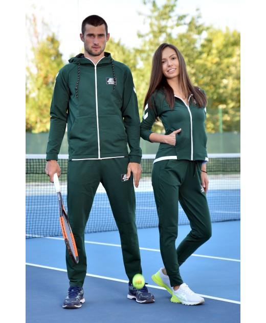 Комплект Спортни Екипи за Двама BorianaSport в Тъмно Зелено