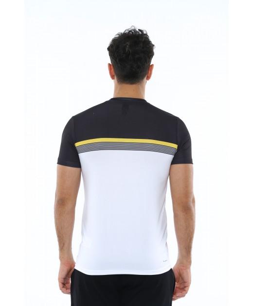 MXCSPORT Мъжка Тениска Черно с Бяло