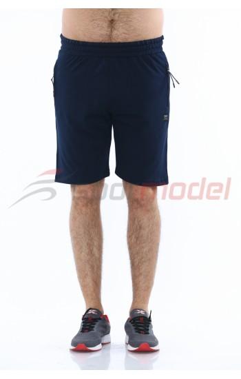 MXCSPORT Мъжки Къси Панталони Цвят Тъмно Синьо