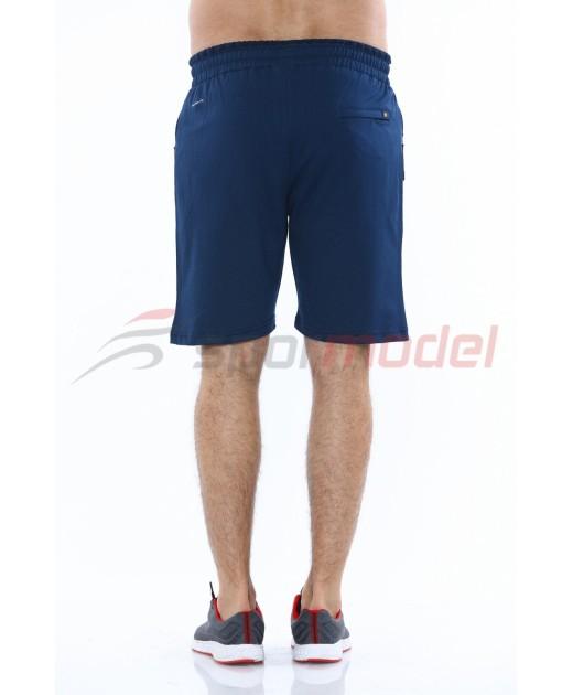 MXC Мъжки Къси Панталони Италианско Синьо