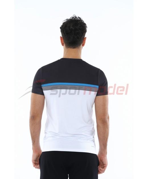 MXCSPORT Мъжка Спортна Тениска Основа Бяло